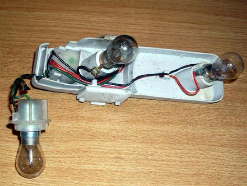Wiring loom & bulb holder, l/h rear light, Mazda MX-5 mk1, left hand, USED